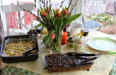 Huvilaelämää ja mökkiruokaa: Pääsiäislammas nyhdettynä