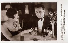 https://flic.kr/p/NYxaac | Agnes Petersen and Victor Varconi in Kult ciala (1930) | Polish postcard, no. 1244. Photo: publicity still for Kult ciala/The cult of the body (Michal Waszynski, 1930).  Agnes Petersen (1904-1953?) was a star of the Danish and German silent cinema. She was the second wife of the legendary Russian-born film star and charmer Ivan Mozzhukhin.  Handsome Victor Varconi (1891–1976) was a highly successful matinee idol of the Hungarian-Austrian and German silent cinema…