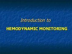 Advanced Hemodynamics