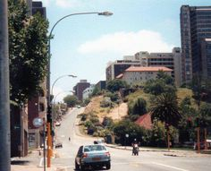 The steep Nugget Hill Johannesburg City, Third World Countries, The Good Old Days, Landscape Design, South Africa, Landscape Photography, Places To Go, Scenery, Nostalgia