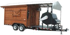 cool bbq trailer