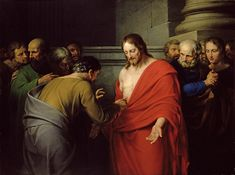 You believe in me Thomas because you have seen me says the Lord; blessed are those who have not seen but still believe! Divine Mercy, Chichester, Doubting Thomas, Salvator Mundi, St Faustina, Jesus Christ Images, Blessed Are Those, Holy Quotes, Confessions
