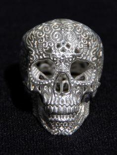Josh Harker - Crania Anatomica Filigre- Silver