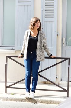 Veste @ISAE_Paris / Jean @FrenchAppeal / Top @justetextile - Sélection shopping made in France w/ @dressingresp // Où trouver des vêtements responsables ? www.sweetandsour.fr