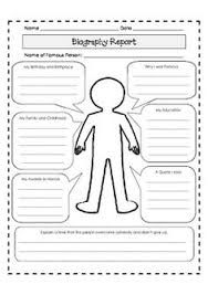 historical biography template - researching civil rights heroes black history month