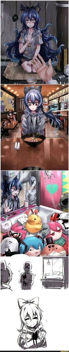 # ア ア メ # Kunsthandwerk # Designs . Fan Art Anime, Anime Art Girl, Manga Art, Anime Girl Crying, Anime Girls, Anime Meme, Anime Comics, Animé Fan Art, Anime Stories