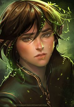 I'm pining this because, it looks like Aragorn and Arwen's child. So cute Fantasy Magic, Fantasy Art Men, Elfa, Fantasy Creatures, Mythical Creatures, Character Portraits, Character Art, Sweet Boys, Norse Mythology