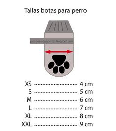 Patrón de botas para perro   Patrones de ropa para perros