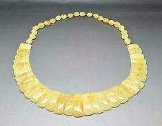 Beautiful Genuine Baltic Amber Cloepatra Necklace for Woman Yellow/Butterscotch #Handmade #Choker Amber Stone, Amber Necklace, Baltic Amber, Chokers, Woman, Detail, Yellow, Handmade, Ebay
