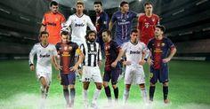 The Leading SPANISH FOOTBALL   SPORTS   SOCCER Blog: UEFA XI 2012
