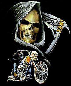 HELL ON WHEELS CHOPPER BIKE EASY LOW RIDER SKELETON BUCKLE BLACK LEATHER BELT