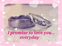 Couples' Promise Rings