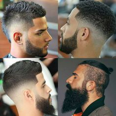 The Beard Fade & Cool Faded Beard Styles 2018 - The beard fade is probably one of many coolest beard kinds for males. By lining up a tapered fade with a beard, guys can create a recent pale beard that uniquely transitions from their low … Faded Beard Styles, Different Beard Styles, Beard Styles For Men, Hair And Beard Styles, Tapered Beard, Tapered Haircut, Beard Shape Up, Beard Shampoo And Conditioner, Tattoos