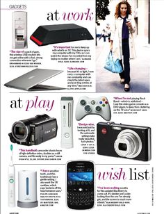 Gadget page Magazine Page Layouts, Gadget Magazine, Magazine Spreads, Editorial Layout, Magazine Design, Gd, Magazines, Gadgets, Inspiration