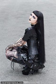 #Vampireaks model and #Goth girl Obsidian Kerttu