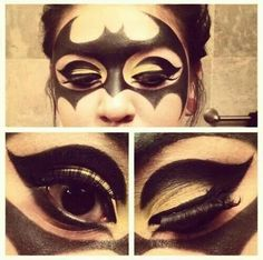 Sissy fav. Batman make up
