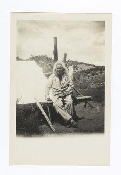 One Hundred Twenty Year Old Mescalero Apache Medicine Man