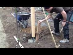 Rot-proof Fence Posts - YouTube