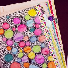 Step by step: ♥ Art Journal Update ♥