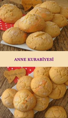 It Will Take You To Your Childhood: Mother's Cookie - Kekse Mothers Cookies, Turkish Kitchen, Food Articles, Easy Cookie Recipes, Hamburger, Sweet Tooth, Muffin, Good Food, Food And Drink