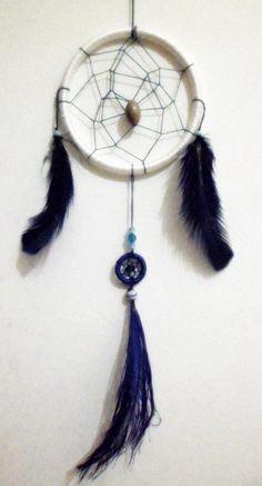 Filtro dos Sonhos em Azul e Branco R$ 20,00