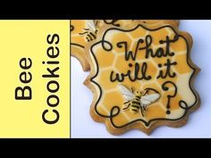 How to make bee themed cookies -What will it bee?