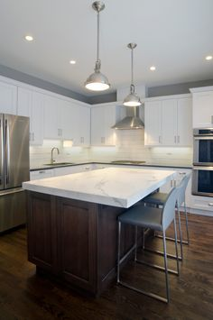 South Loop town home kitchen remodel