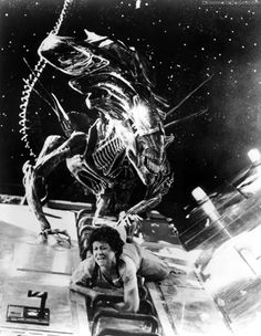 """I remember seeing """"Aliens"""" on CBS as a kid. My mom informed my brother and I that it was a sequel, which blew our minds. Years later, we'd own action figures, more sequels, and weird catch phrases."""