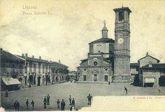 Legnano, La Basilica di San Magno e la sua piazza.