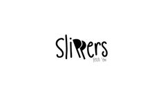 #slippers #logo #verbicon