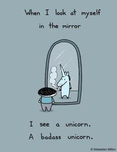 Here are some funny unicorn quotes - because unicorn humor is a truly terrific day brightener! The Words, Nerd, Magic Creatures, Mythical Creatures, I Am A Unicorn, Unicorn Art, Magical Unicorn, Baby Unicorn, Unicorn Birthday Meme