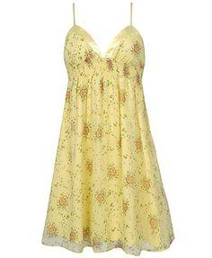 soft yellow sundresses