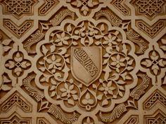 Details, the Nasrid Palace, Alhambra, Granada, Spain
