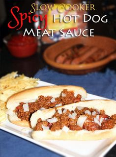 Spicy Hot Dog Meat Sauce #recipe #shop #KraftCoupon #cbias