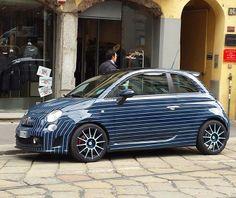 Fiat Abarth 500 gessata