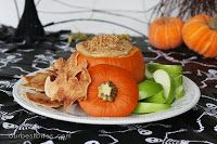 Caramel Toffee Fruit Dip: Halloween Edition | Our Best Bites - this was divine!