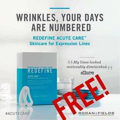 THIS IS YOUR LAST CHANCE! Ahhh....Today is the last day to take advantage of FREE #AccuteCare  Become a customer of mine before midnight tonight and I will gift you FREE Acute Care samples!! #givingitaway #wrinklewarrior  Join my Team by midnight tonight and I will gift you a FREE box of Acute Care! Don't miss out on this offer if you have been thinking about this opportunity smile emoticon #takeachance Message me for more! ask me questions!