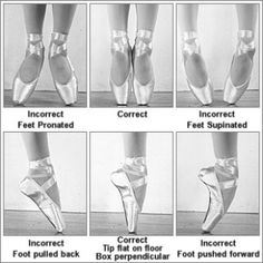 pointe work www.theworlddances.com/ #ballet #twinkletoes #dance