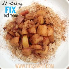21 Day Fix Extreme Recipes including breakfast, lunch, dinner, and snacks!!!  Head over and contact me if you'd like to join our next group!  Leslie@Fitssimple.com