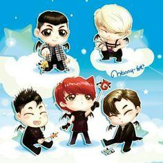 #BIGBANG #Monster #KPOP #GDragon #TOP #Daesung #TaeYang #SeungRi