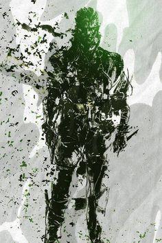 Naked Snake (Big Boss) - Metal Gear Solid 3: Snake Eater #MetalGearSolid3 #NakedSnake #SnakeEater #MGS3SnakeEater #MGS3 #BigBoss