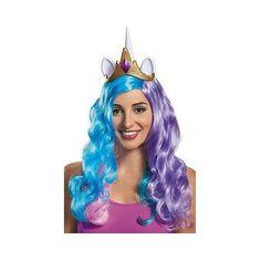Princess Celestia Ears Adult ($18) ❤ liked on Polyvore featuring costumes, halloween, adult costume, adult princess halloween costumes, princess halloween costumes, adult princess costume and adult halloween costumes