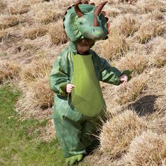 children's triceratops dress up costume by time to dress up   notonthehighstreet.com