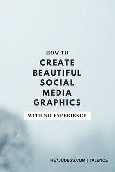 Video Tutorial: How to Design Beautiful Social Media Graphics With No Experience