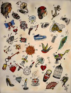Tiny tattoo flash Mini tattoo ideas http://www.dermeffacefx7.com/ #dermefface #discountcode #derm777
