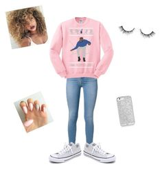 """Hotline bling"" by kaykay0710 ❤ liked on Polyvore featuring Converse"