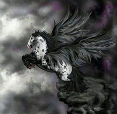 Pegasus fantasy horse horses