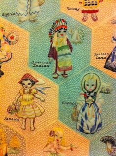 THE AVERAGE QUILTER dolls of nations quilt