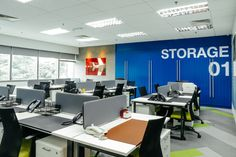 AJM Interiors recently completed the offices for recruitment agency Interisland Manpower, located in Kuala Lumpur, Malaysia. Interisland Manpower PTE LTD Workplace Design, Corporate Design, Office Layout Plan, Dropped Ceiling, Open Office, Kuala Lumpur, Interior Design Inspiration, Offices, Furniture