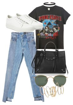 """Untitled #4408"" by olivia-mr ❤ liked on Polyvore featuring Alxvndra, Floyd, Humble Chic, Acne Studios, Balenciaga, Ray-Ban and BP."